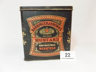 Barringer   Brown s Mustard Tin