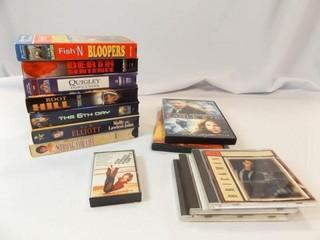VHS  7  DVD  2  CD  3  Cassette