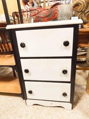 Painted Small Chest of Drawers  30  x 19  x 15