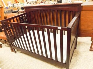 Graco Wood Baby Bed  41  tall x 55  x 30