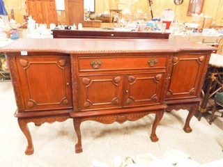 Wood Buffet  39  tall x 72  x 24