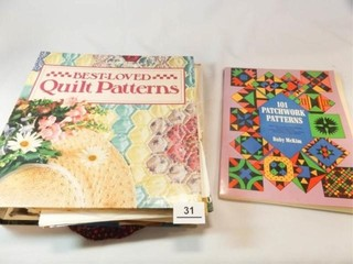 Quilt Patterns  Folder  Book
