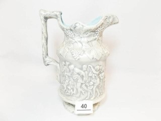 Ceramic Pitcher  labeled YB  69