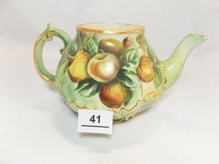 Teapot  Hand painted