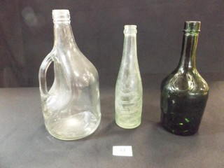 Glass Bottles  Dewar  Falstaff  Green  3