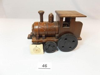 George Good Wood Musical Train Engine