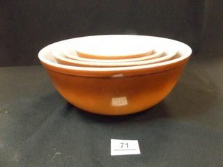 Pyrex Old Orchard Nesting Bowls  4