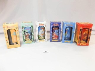 Burger King Disney Collector Glasses  6