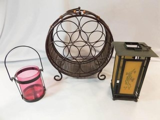 Wine Rack  Tea light lanterns  3