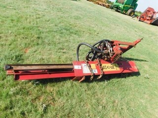 Shaver 3pt  hydraulic post driver