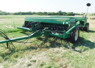 John Deere 450 grain drills