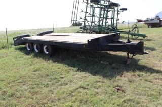 large Equipment Trailer