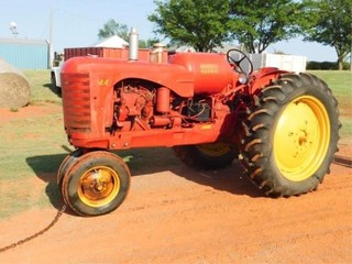 1947 55 Massey Harris Super 44 tractor