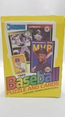1989 Dunross Wax Pack Baseball Cards