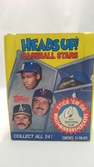 Full pack heads up baseball star suction cup heads