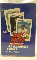 Line Drive Pre Rookie 1991 Factory sealed