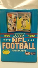 1990 Score NFL Football Player Cards