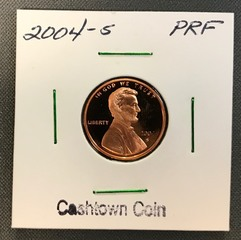 2004-S Lincoln Proof Cent