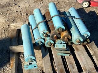 Pallet Lot Of (12) Heavy Duty Rollers