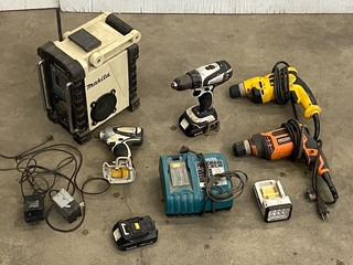 Lot Of Power Tools & Etc