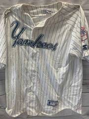 Signed Luis Polonia Yankees Jersey Size XL