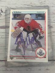 1990 Autographed Ed Belfour Card