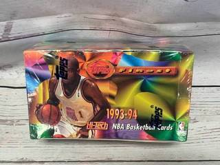 1993-94 NBA Topps Finest Factory Sealed Box (SOLD FOR $1750 ON EBAY)