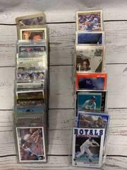 Huge Lot of George Brett Cards
