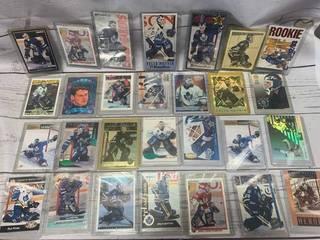 Lot of 28 Felix Potvin Hockey Cards