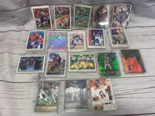 Lot of 18 1990's Football Mini Sets