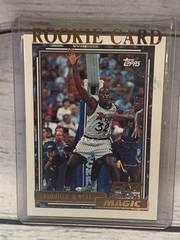 1992-93 Topps Shaquille Shaq O'Neal Rookie Card