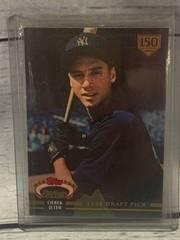 1992 Derek Jeter Draft Pick Stadium Club Rookie Card