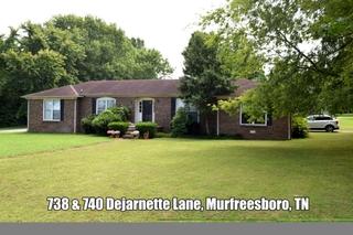 ONLINE ESTATE AUCTION Selling Absolute - Brick Duplex at 738 & 740 Dejarnette Lane