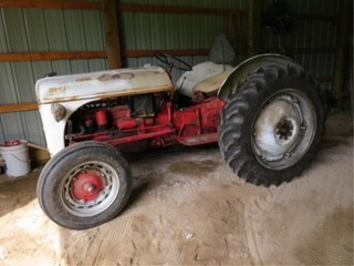 47 Ford 8N Gas, 3pt., 540 PTO