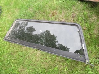 Rear Glass door for pickup topper