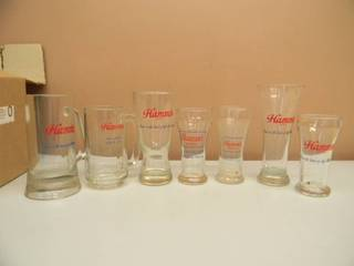 VINTAGE HAMM'S BEER GLASSES - SEE PICTURES!