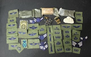 Approx. 40 Military Patches, Military Accessories