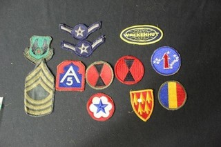 12 Military Patches