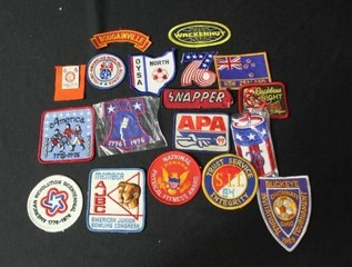 17 Non Military Patches
