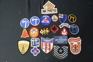 16 Military Patches