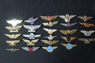 26 Airline Badges