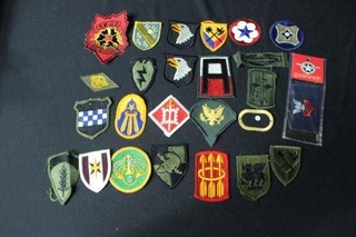 25 Military Patches