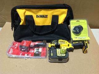 MIX LOT OF RYOBI Air Grip Compact Laser Level & MISC. TOOLS in good condition