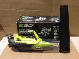110 MPH 530 CFM 56V Lithium-Ion Cordless Variable-Speed Turbo Electric Blower, 2.5 Ah Battery and Charger Included in good condition