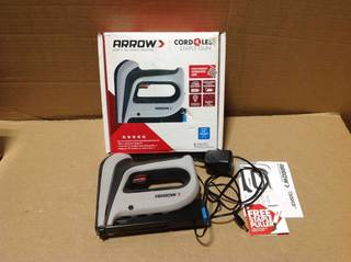 Arrow T50DCD Cordless Staple Gun in good condition