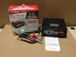 Battery Extender 12-Volt, 80 Amp Engine Start, 20 Amp Charger/Maintainer in good condition