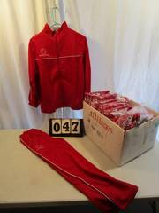 Warm Up Suits - Mazamba - Red/White Piping