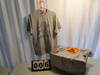 Printed Short Sleeve T-Shirts - Gray