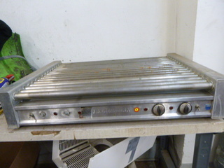 JJ Connoly Hot Dog Roller Grill