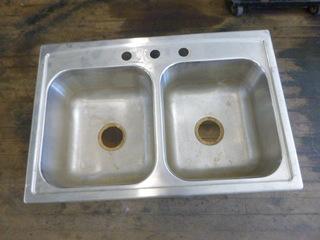 Stainless Dual Kohler Sink